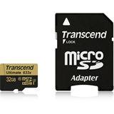 32 GB Transcend Ultimate microSDHC Class 10 U1 Retail