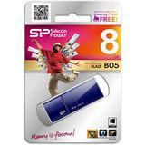 8 GB Silicon Power Blaze B05 blau USB 3.0
