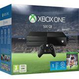 Microsoft XBox One ohne Kinect Konsole 500GB HDD WiFi & Bluetooth FIFA 16 schwarz (XOne)