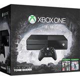 Microsoft Xbox One - 1TB, Rise of the Tomb Raider Bundle, schwarz