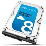 """8000GB Seagate Enterprise NAS HDD +Rescue ST8000NE0011 256MB 3.5"""" (8.9cm) SATA 6Gb/s"""