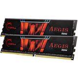 16GB G.Skill Aegis DDR4-2133 DIMM CL15 Dual Kit