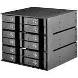 Silverstone SST-FS212B 3x 5,25 Zoll Hot-Swap für 12x 2,5 Zoll HDD/SSD