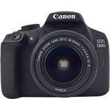 Canon EOS 1300D schwarz mit Objektiv EF-S 18-55mm 3.5-5.6 IS II