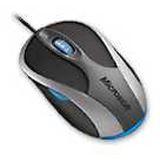 Microsoft 3000 Optische Maus Schwarz/Silber USB