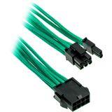 PHANTEKS 6+2-Pin PCIe Verlängerung 50cm - sleeved grün