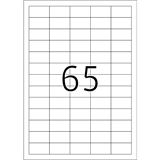 TOP STICK Universal-Etiketten, 38,1 x 21,2 mm, 100 Blatt
