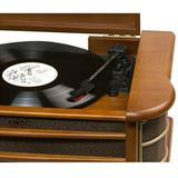 Denver Retro Musik-Center mit Plattenspieler MCR-50