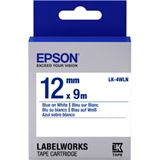 Epson Tape LK4WLN STD BLUE/WHT 12/