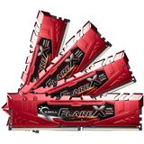 32GB G.Skill Flare X rot DDR4-2400 DIMM CL15 Quad Kit