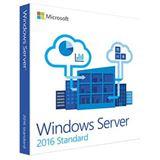 Microsoft System Builder Windows 2016 Server Standard x64 16Core [FR] DVD