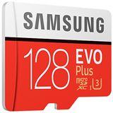 128 GB Samsung EVO Plus microSD Class 10 UHS-I U3 Retail inkl. Adapter auf SD