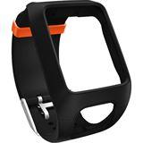 Tomtom Adventurer Uhren-Armband schwarz/orange