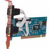 Evertech 2x Serielle Schnittstelle PCI-Karte