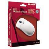 Microsoft Basic Optische Maus Weiß PS2/USB