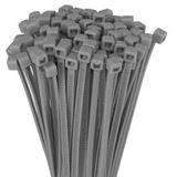 Kabelbinder, Länge 98mm, Breite 2,5mm, 100 grau