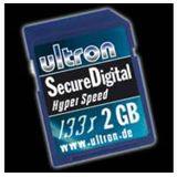 2GB Ultron 35420. Secure Digital 133x Karte