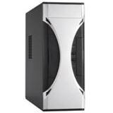µATX Chieftec Maestro CS-01B-SL Desktop Tower o.NT Schwarz/Silber