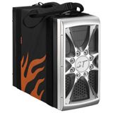 42 Degrees PC-Tragevorrichtung PC Easy Wrap, Side Net Pocket, Schwarz-Orange (PC)