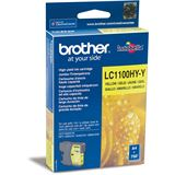 Brother Tinte LC1100HY-Y gelb