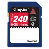 16GB Kingston Technology 16GB Kingston SDHC VIDEO