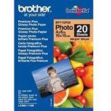 Brother BP71GP20 Fotopapier Fotopapier 10,5x14,8 cm (20 Blatt)