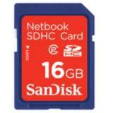 16 GB SanDisk Netbook SDHC Class 2 Bulk