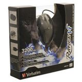 Verbatim Rapier V1 Laser Gaming Maus Schwarz/Silber USB