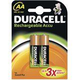 Duracell Akkus HR6 Nickel-Metall-Hydrid 1700 mAh 2er Pack
