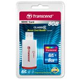 8 GB Transcend Standard SDHC Class 6 Bulk
