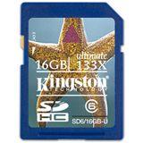 16GB Kingston SD6/16GB-U Ultimate Secure Digital SDHC Karte