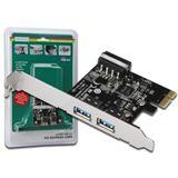Digitus PCI-E Karte USB3.0 2-Port