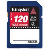 8 GB Kingston Video SDHC Class 4 Retail