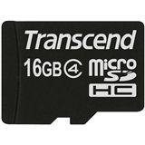 16 GB Transcend Standard microSDHC Class 4 Bulk