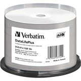 Verbatim DVD-R 4.7 GB bedruckbar 50er Spindel (43744)