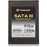 "512GB Transcend SSD720 2.5"" (6.4cm) SATA 6Gb/s MLC Toggle (TS512GSSD720)"