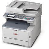 OKI MC562dn Farblaser Drucken/Scannen/Kopieren/Faxen LAN/USB 2.0