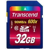 32 GB Transcend Ultimate SDHC UHS-I Retail