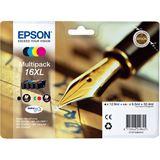 Epson Tinte C13T16364010 schwarz, cyan, magenta, gelb