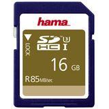 16 GB Hama UHS-I 85MB/s SDHC Class 10 Bulk