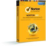 Symantec Norton 360 2013 32/64 Bit Deutsch Internet Security Lizenz 1-Jahr PC (CD)