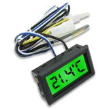 XSPC LCD Temperatursensor - grün
