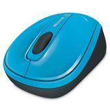 Microsoft Mouse 3500 USB Cyan Blue (kabellos)