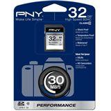 32 GB PNY Performance SDHC Class 10 Retail