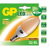 GP Lighting Candle Flame Matt E14 A