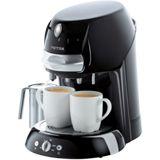 Petra-Electric Kaffee Pad Automat ArtensoLatte s KM 42.17 sw hgl