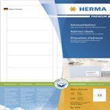 Herma 4479 Premium Adressetiketten 8.89x3.8 cm (100 Blatt (1600 Etiketten))