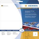 Herma 4693 strapazierfähig extrem stark haftend Universal-Etiketten 21x14.8 cm (25 Blatt (50 Etiketten))