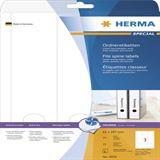 Herma 4831 Inkjet-Ordneretiketten 6.1x29.7 cm (25 Blatt (75 Etiketten))