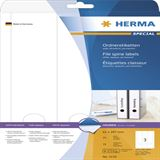 Herma 5135 blickdicht Ordneretiketten 6.1x29.7 cm (25 Blatt (75 Etiketten))